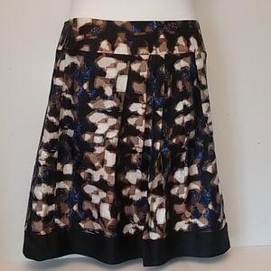Dana Buchanan silk skirt